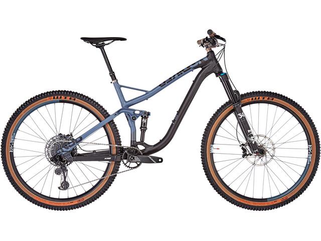 NS Bikes Snabb 130 Plus 1 29 inches black/steel blue